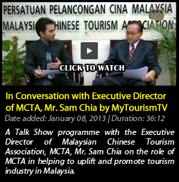 Conversation with Executive Director of MCTA, Mr. Sam Chia by MyTourismTV